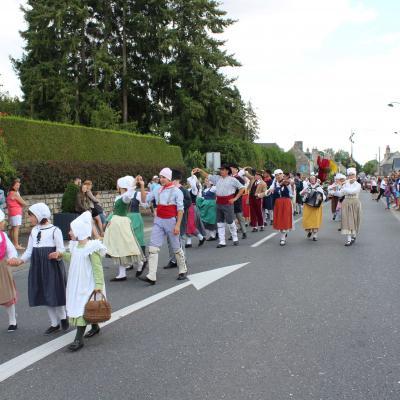 Danse de défilé