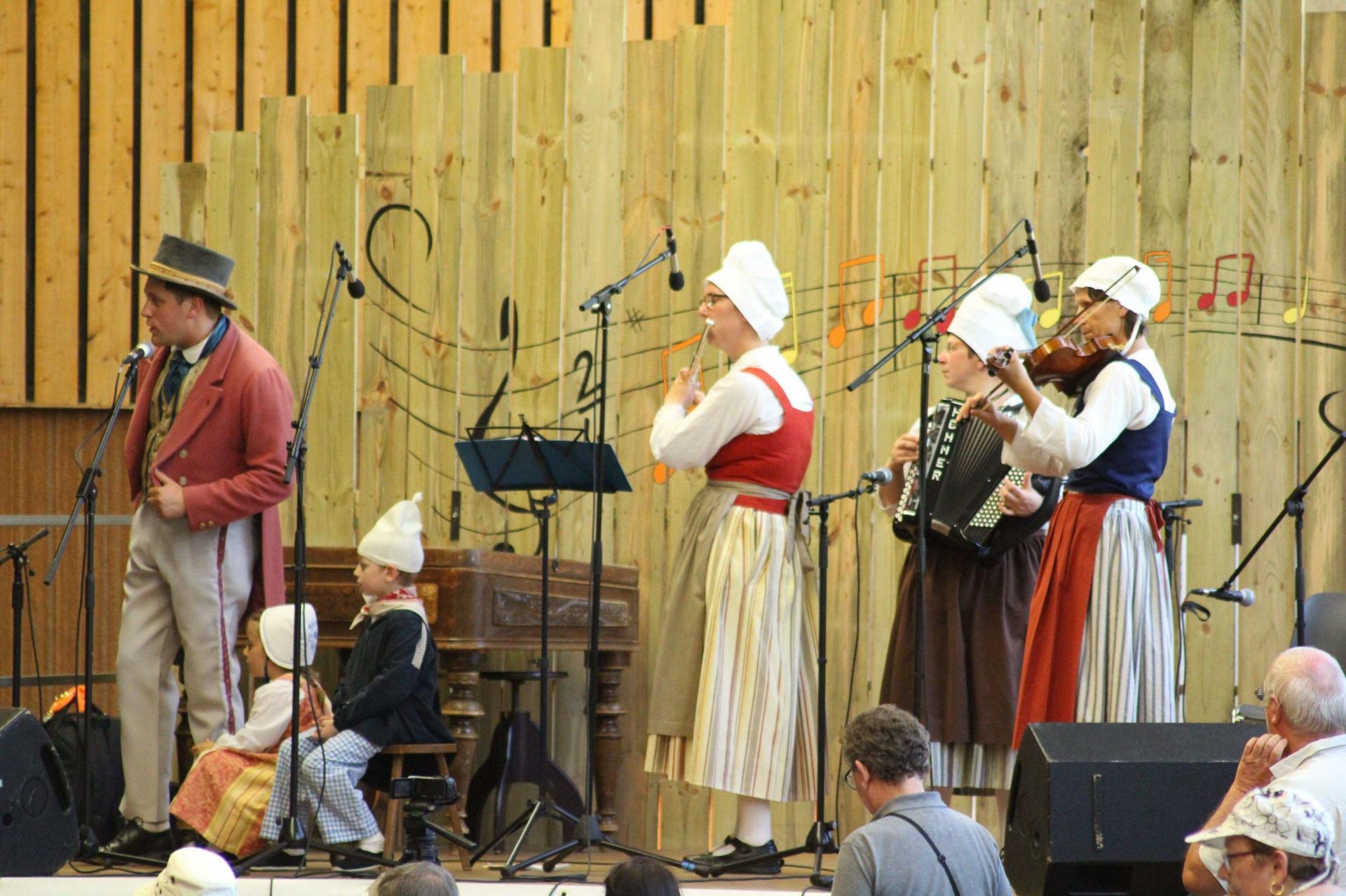 Les musiciens du trou Normand
