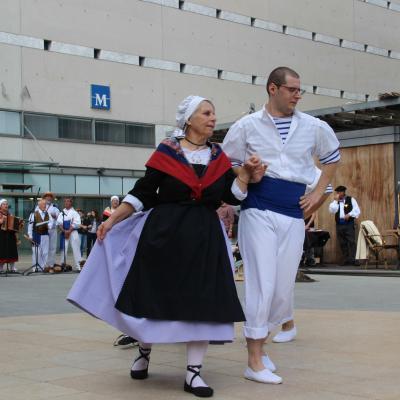 La Garriga couple de danseurs