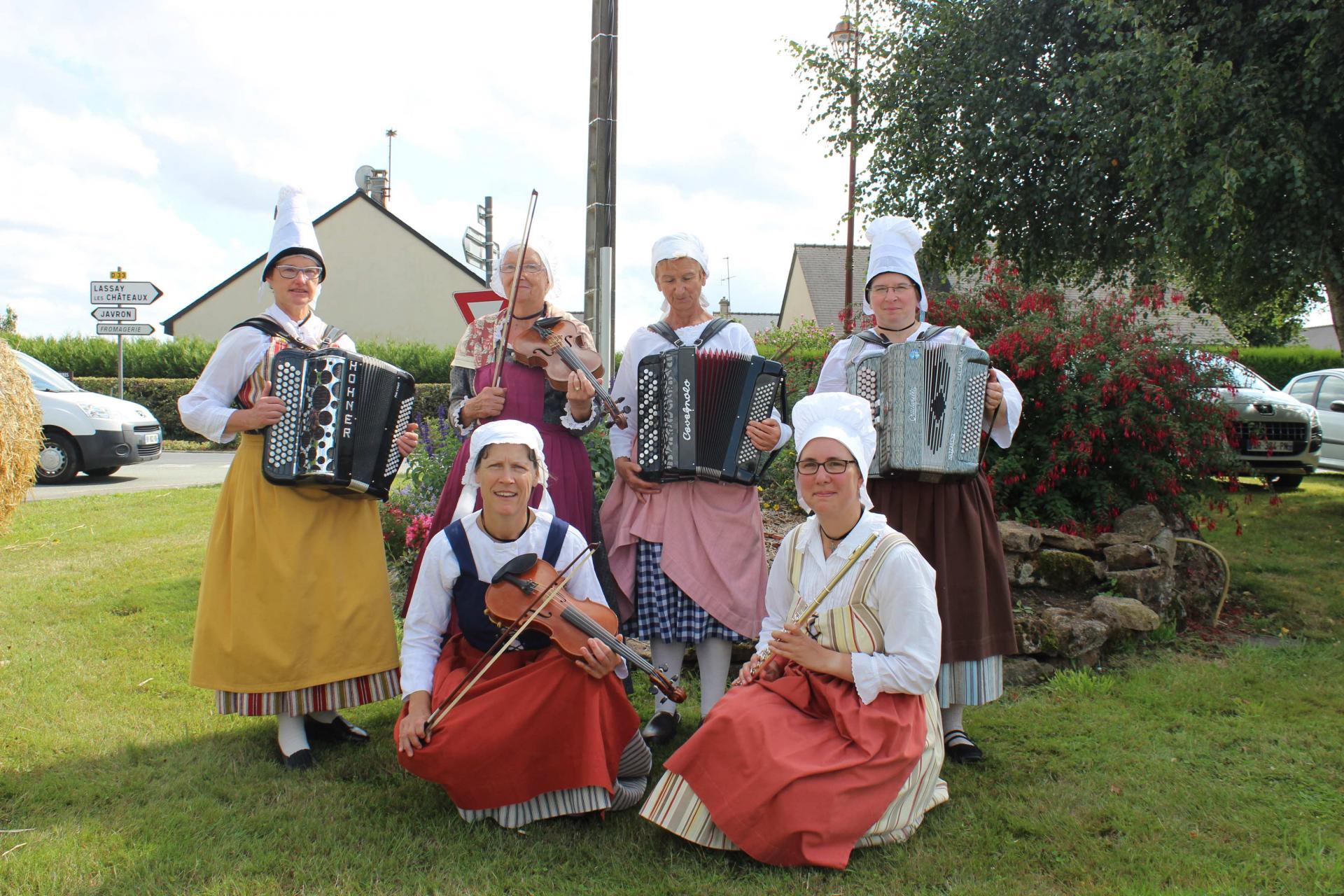 Musiciennes Charchigné 2019_08_18